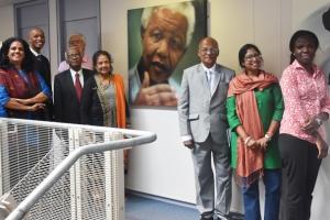 தென்னாபிரிக்காவிலுள்ள மனித உரிமைகள் நிலைய உறுப்பினர்கள் இலங்கையின் தகவலறியும் உரிமைக்கான ஆணைக்குழு உறுப்பினர்களுடன் சந்திப்பு